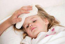 bệnh sốt siêu vi ỡ trẻ em
