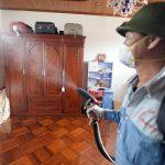 Phun hóa chất liệu có diệt trừ hết muỗi gây sốt xuất huyết